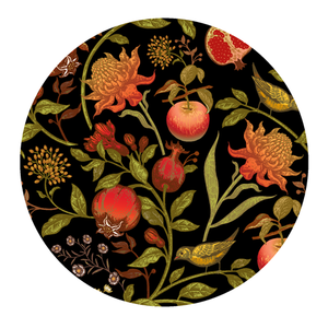 Paper Placemats Forest Fruits Round