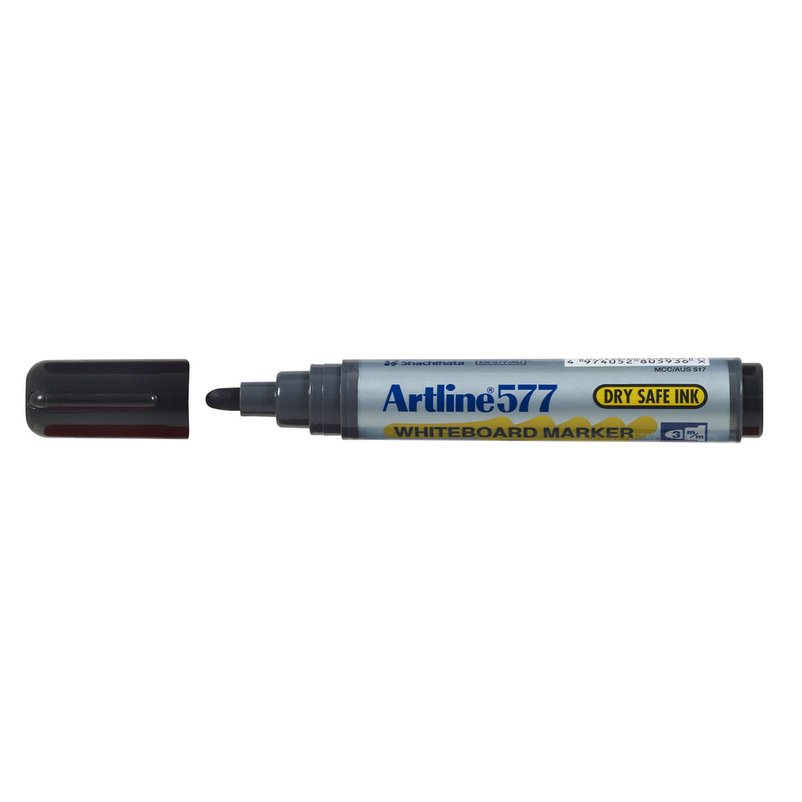 Artline 577 Whiteboard Marker Bullet Black