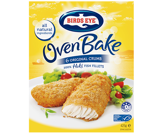 Birds Eye Crumbed Fish Fillets 6pk