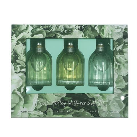 Peppermint Grove Gift Set Mini Diffuser Floral Medley
