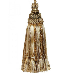 Key Tassel Antique Gold