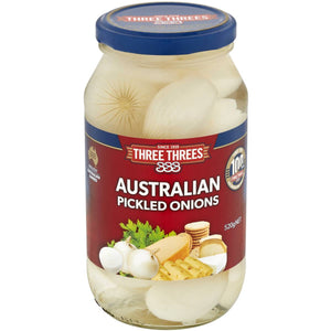 333s Australian Pickled Onions 520g