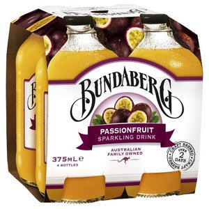 Bundaberg Passionfruit 4 x 375ml