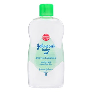 Johnson and Johnson Baby Oil with Aloe 500ml
