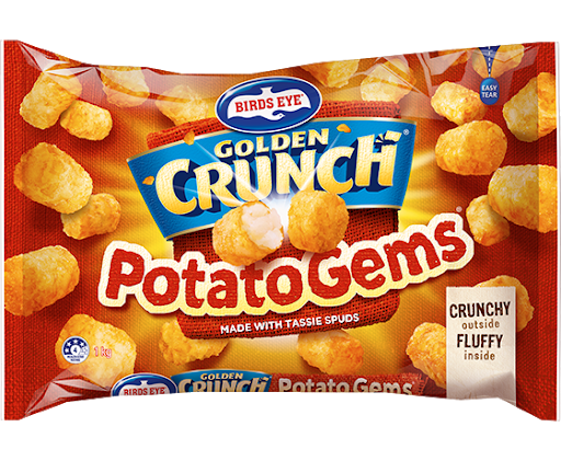 Birds Eye Golden Crunch Potato Gem 1kg