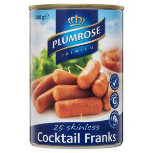 Plumrose Cocktail Frankfurts 400g