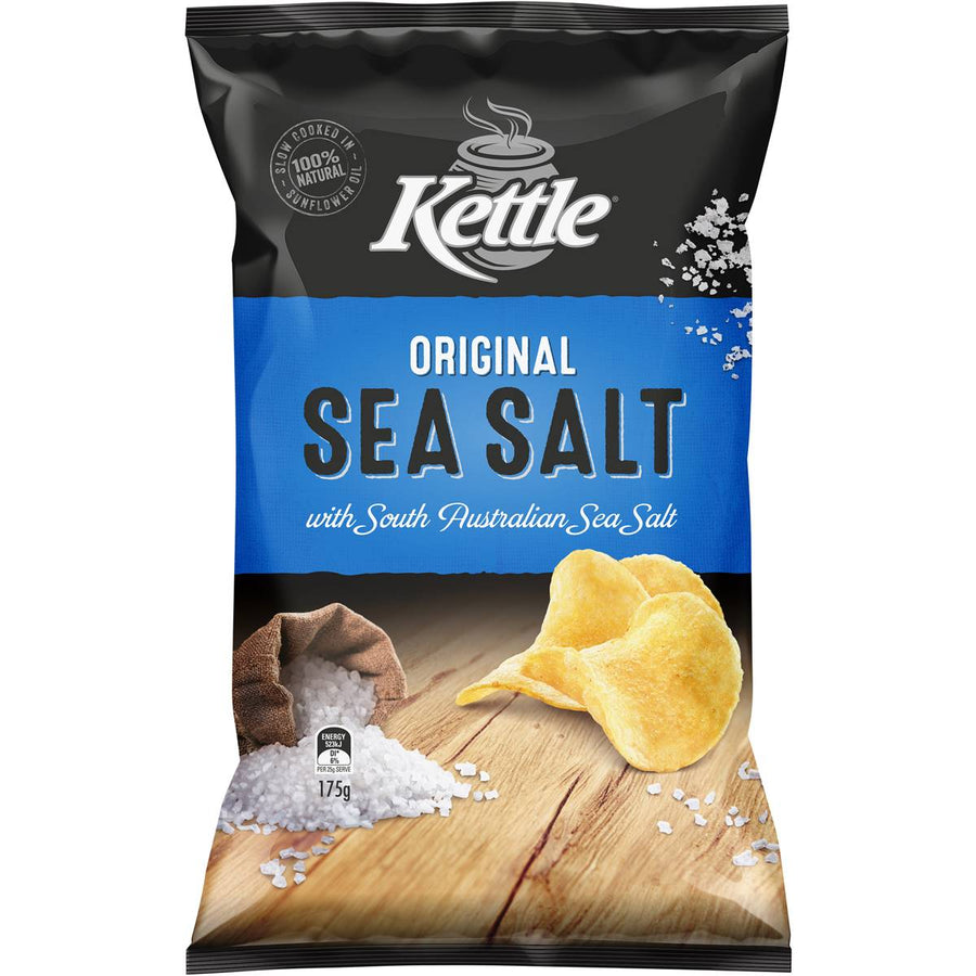 Kettle Original Sea Salt Chips 175g