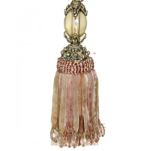 Key Tassel Amber/Gold