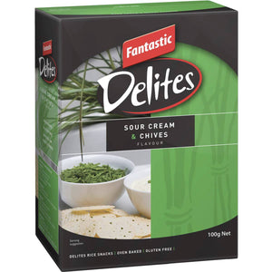 Fantastic Delites Sour Cream and Chives 100g