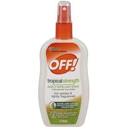OFF Tropical Strength Insect Repellent Spray 175ml