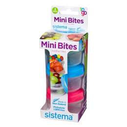 Sistema To Go Mini Bites Set 3 Pack
