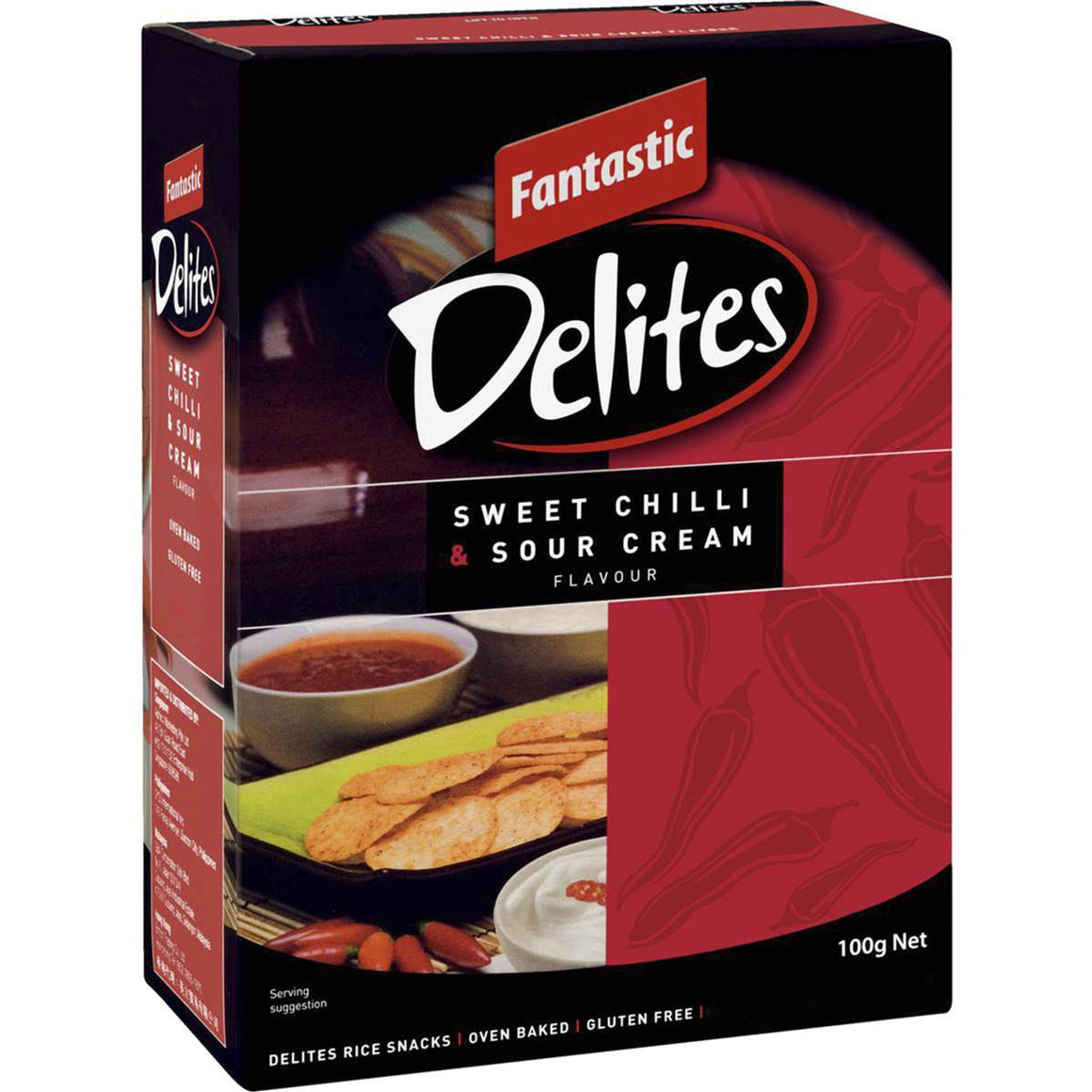 Fantastic Delites Sweet Chilli and Sour Cream 100g