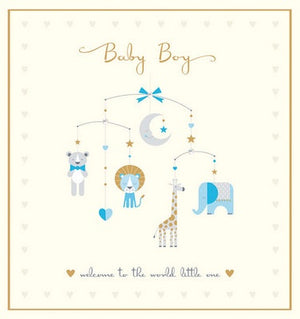 Greeting card - New Baby - Boy