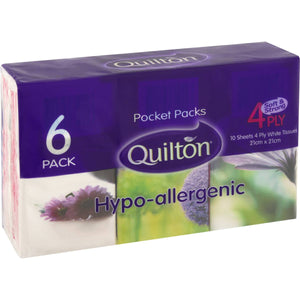 Quilton Pocket Pack 6pk