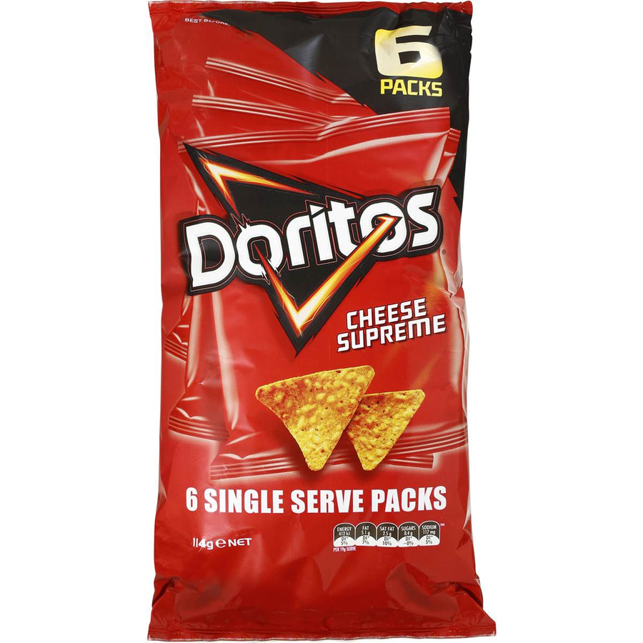 Doritos Cheese Supreme 6pk
