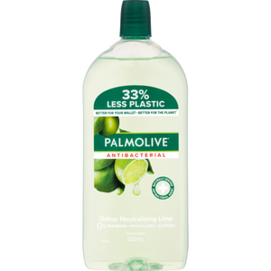 Palmolive Anti-Bacterial Lime Hand Wash Refill 500ml