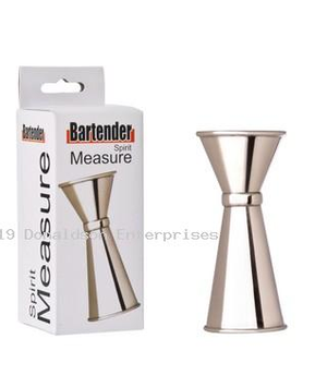 Stainless Steel Spirit Measure 15 / 30ml