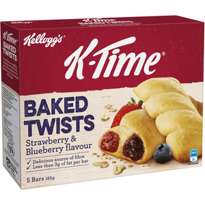 Kellogg's K-time Twist Strawberry & Blueberry 5pk