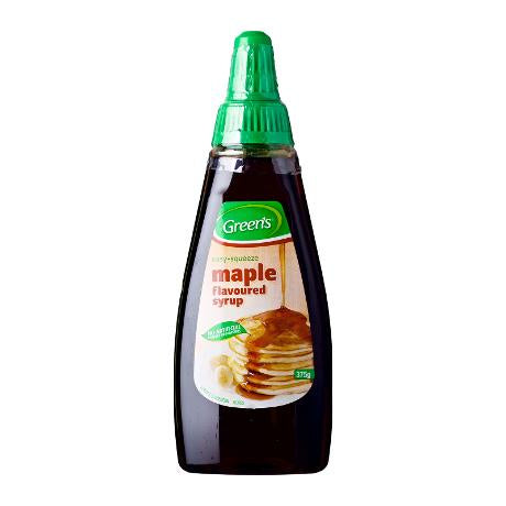 Greens Maple Flavoured Syrup 375g