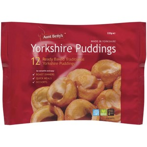 Aunt Betty's Yorkshire Puddings 12pk