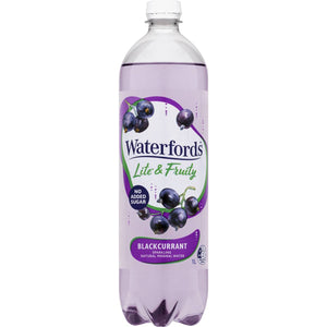 Waterfords Lite & Fruity Blackcurrant 1l