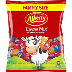 Allens Chew Mix 370g
