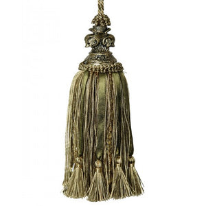 Key Tassel Olive/Gold