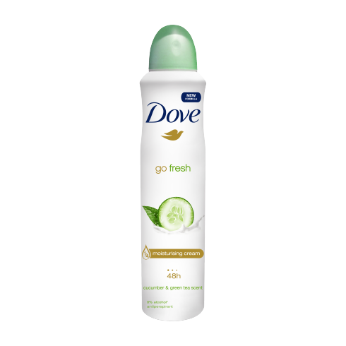 Dove Women Antiperspirant  Cucumber & Green Tea 250ml