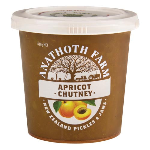 Anathoth Farms Apricot Chutney 410g