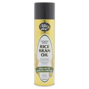 Alfa One Rice Bran Oil Cooking Spray 225g