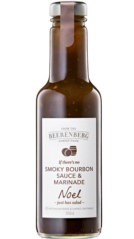 Beerenberg Smoky Bourbon Sauce & Marinade 300ml