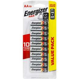 Energizer AA Batteries 10 pack
