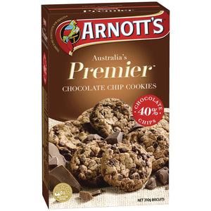Arnotts Choc Chip Cookie Premier 310g