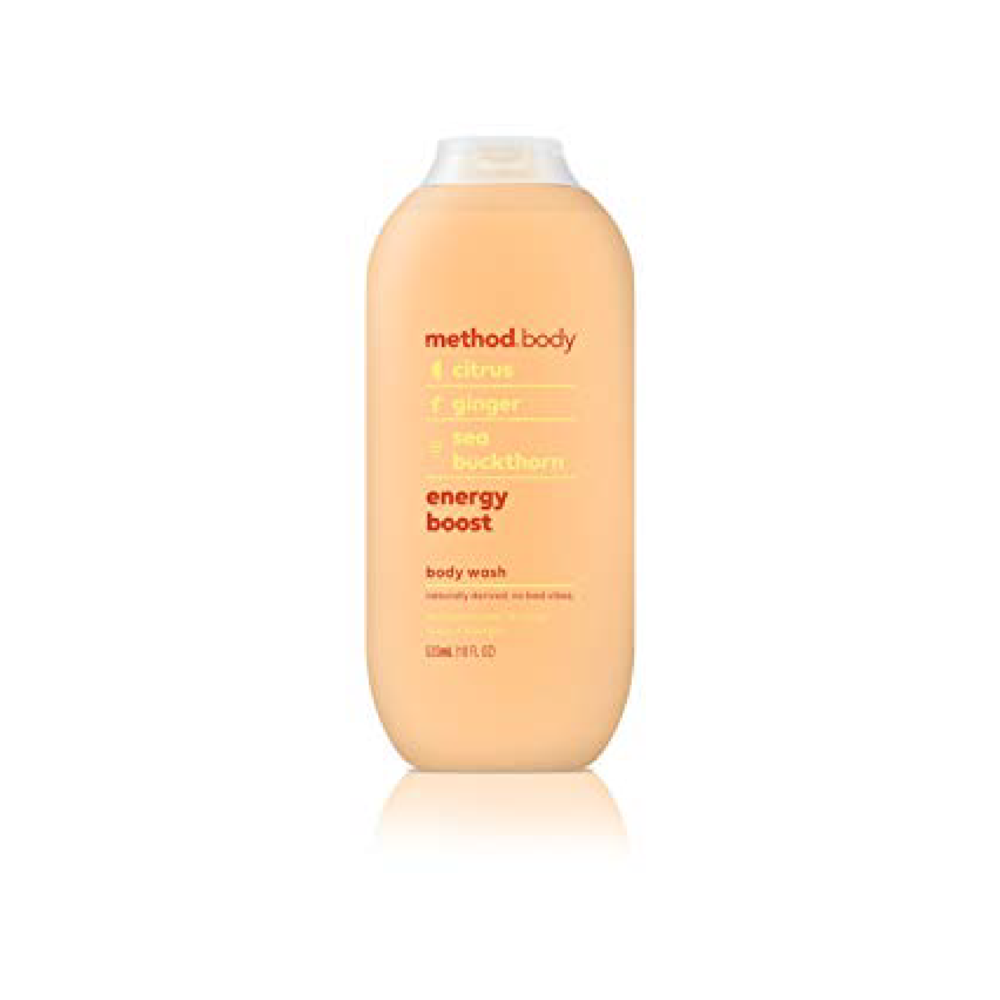 Method Body Citrus Energy Boost 532ml