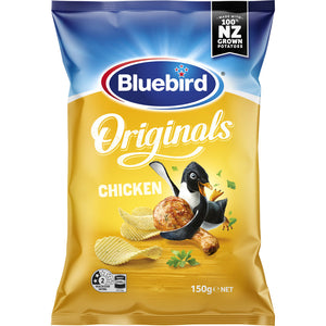 Bluebird Chicken Chips 150g