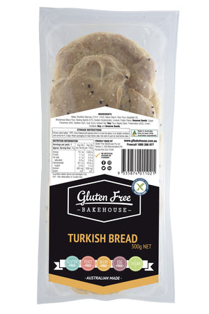 Gluten Free Bakehouse Turkish Bread 300g