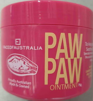 Face of Aust Paw Paw Ointment 75g