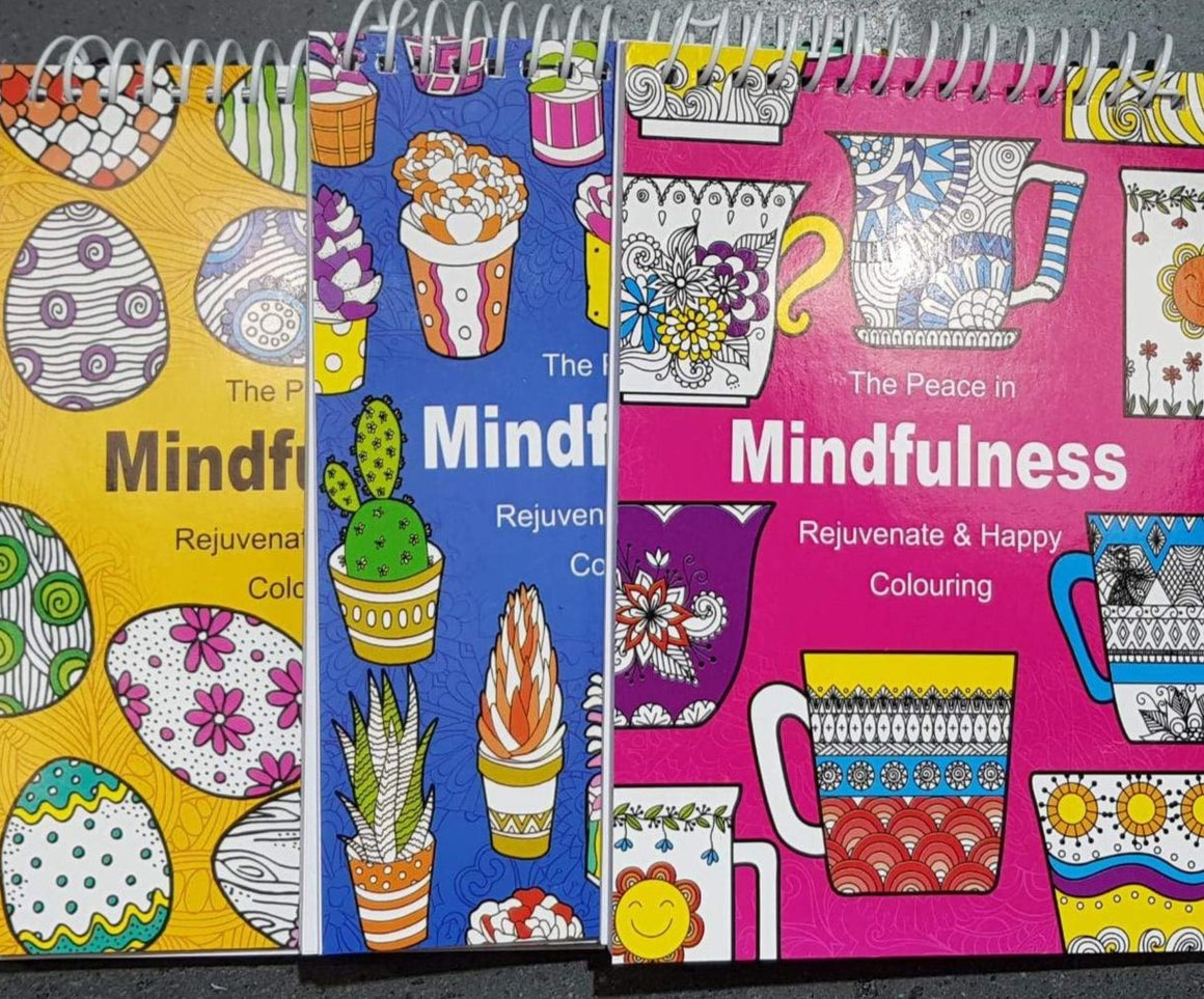 Assorted Mindfulness Rejuvenate & Happy Colouring