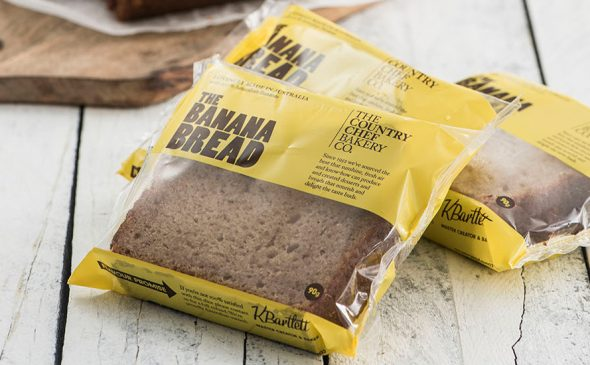 Country Chef Banana Bread Slice 90g