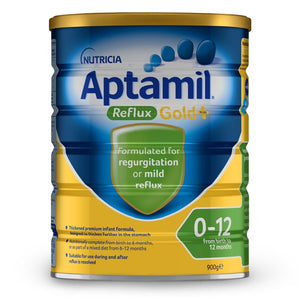 Aptamil Reflux Gold Infant Formula 0-12 Mths 900g