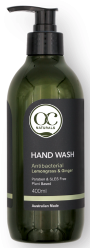 Organic Care Lemongrass & Ginger Antibacterial Hand Wash 400ml