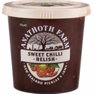 Anathoth Farm Sweet Chilli Relish  420g