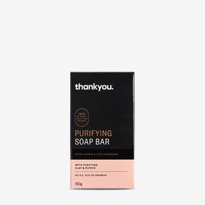 Thankyou Purifying Soap Bar 150g