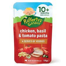 Raffertys Garden Chicken Basil And Tomato Pasta 170g