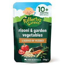 Raffertys Garden  Rissoni Pasta And Garden Vegetables 170g
