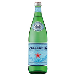 S.Pellegrino Sparkling Natural Mineral Water 750ml