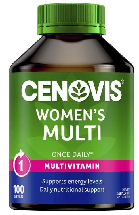 Cenovis Womans Multi Capsules 100 Tablets