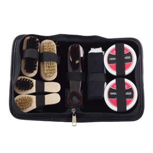 Waproo Shoe Care Kit 9 piece