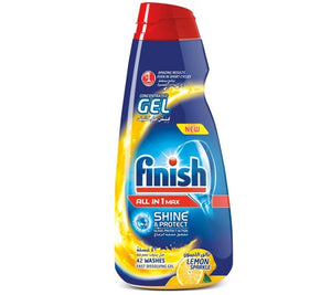 Finish Dishwashing Gel Max In 1 Shine and Protect Lemon Sparkle 1L