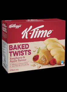 Kellogg's K-time Twist Raspberries & Apple 5pk
